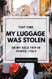 stolen luggage pinterest