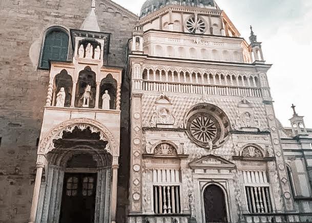 citta alta church exterior