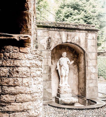 Citta alta scenic walk sculpture