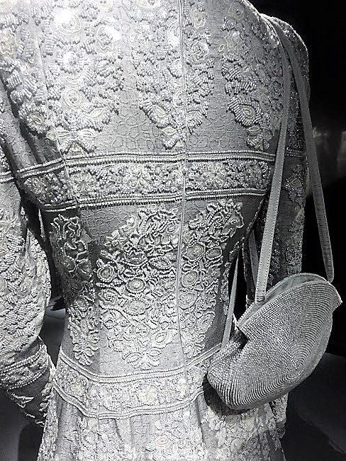 closeup of beading dress