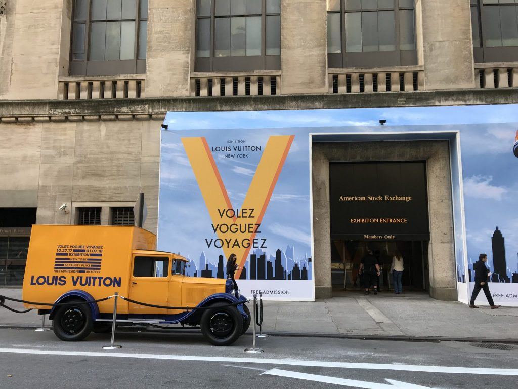 Louis Vuitton exhibit NYC
