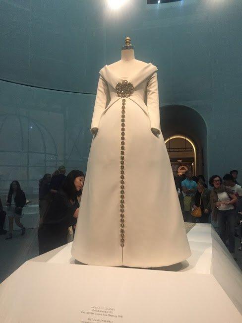 chanel wedding gown1