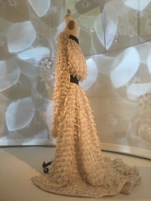 manus x machina dress on a mannequin