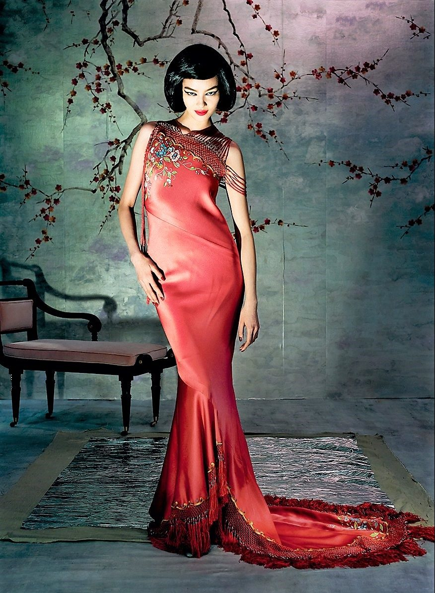 China Looking Glass Vogue Spread