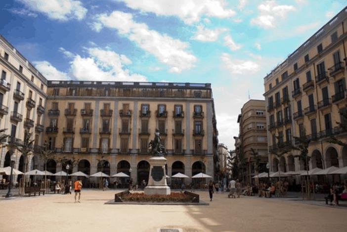 Girona, Spain / Main Square
