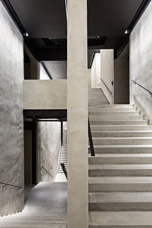 armani silos stairs