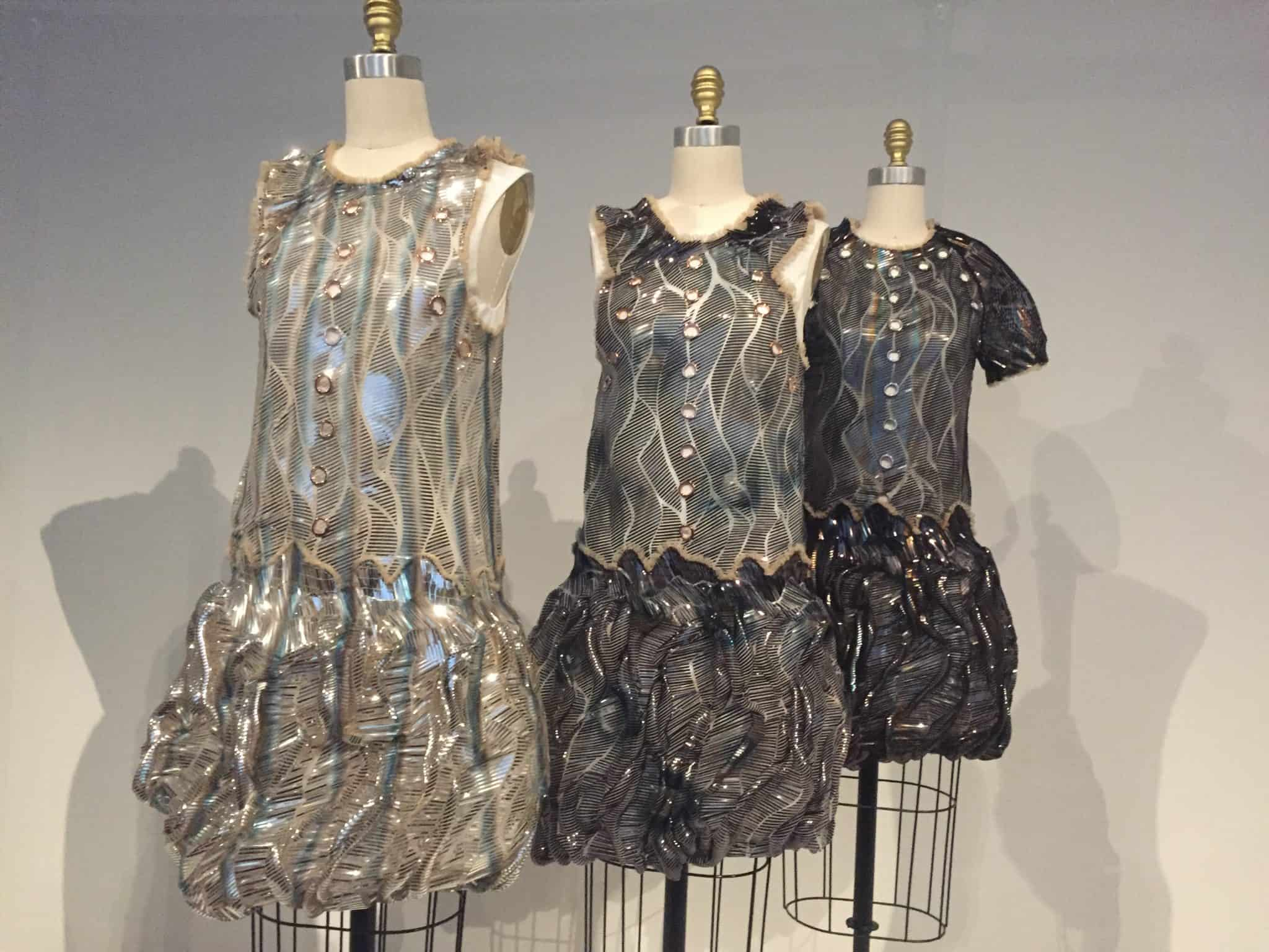 black and silver dresses