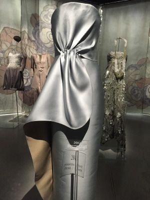 up close silver GA dress