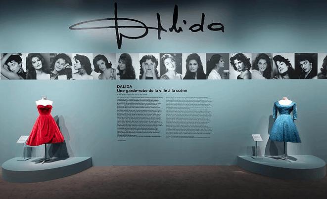 Dalida Exhibit, Paris, entrance