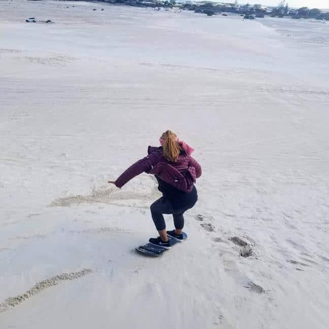 sand surfing lancelin australia