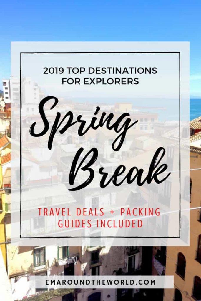 Spring Break Explorers pin