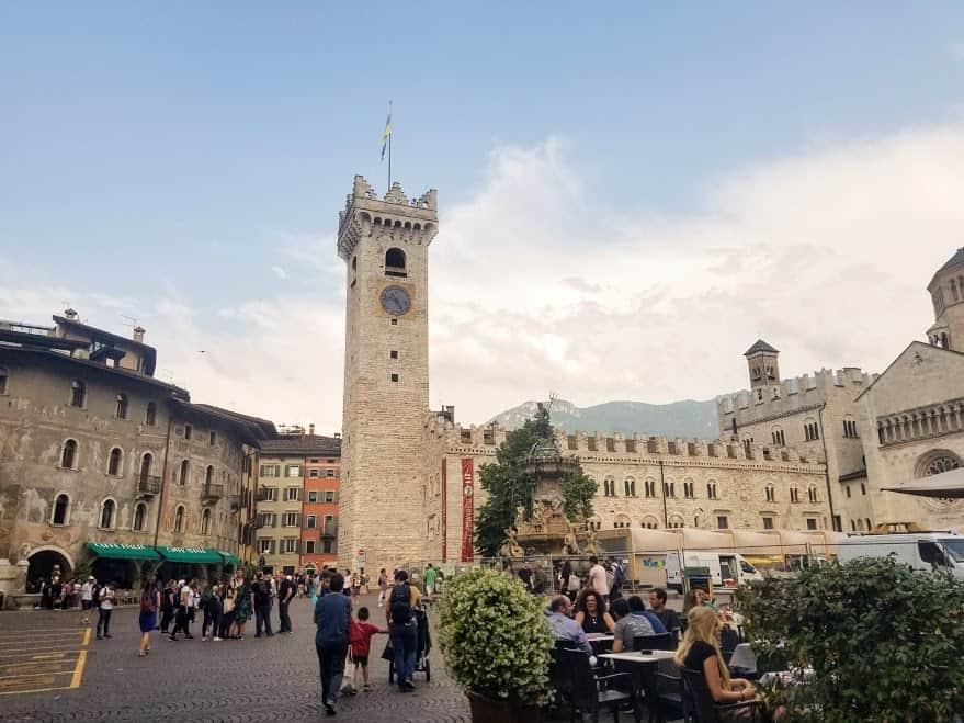 Trentino city center
