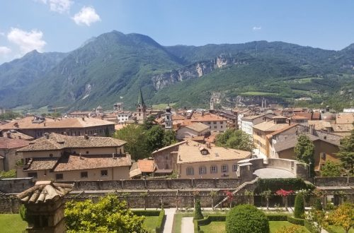 trento italy mountains scenic view