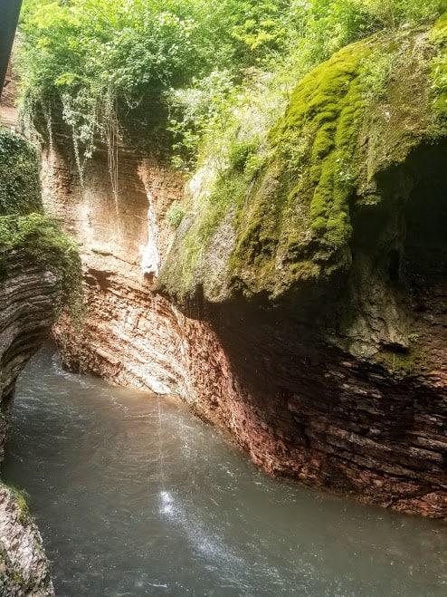 trento waterfall ponte alto