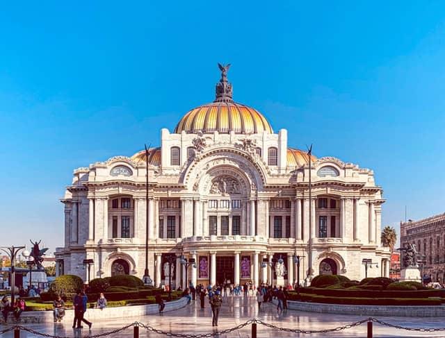 Palace of Arts Mexico Virtual Tour Covid19