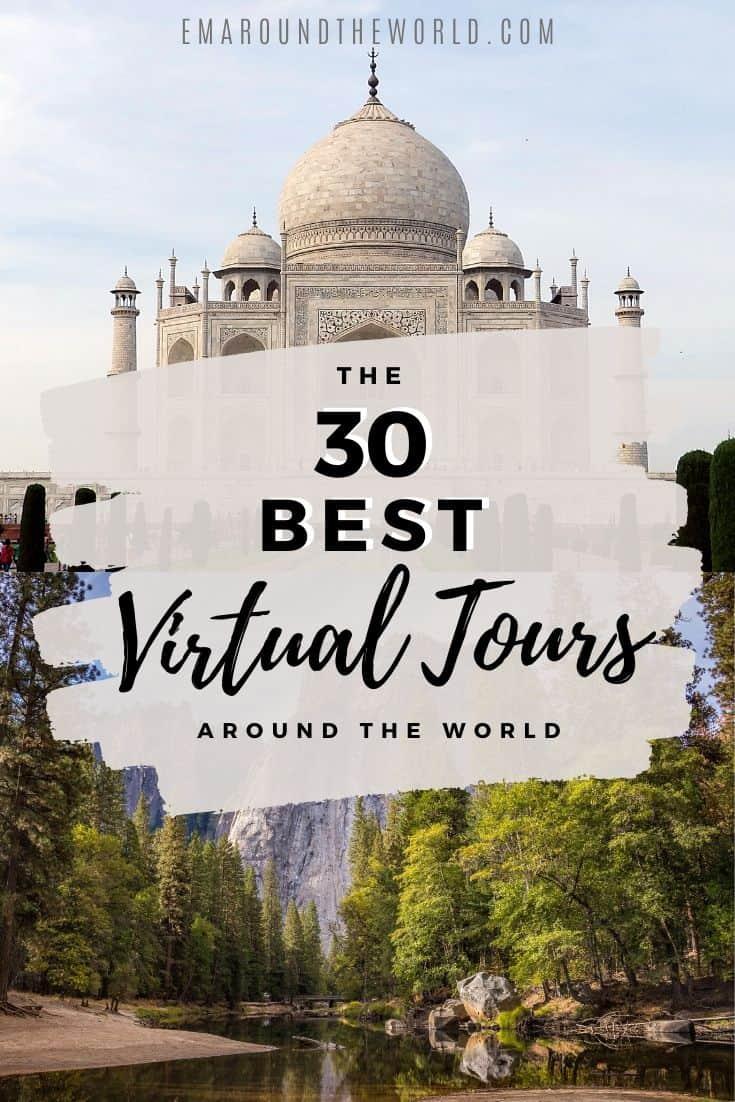 Pinterest Pin Virtual Tours Covid19