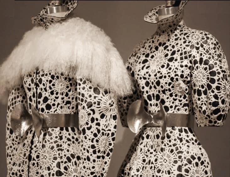 manus x machina closeup of dresses
